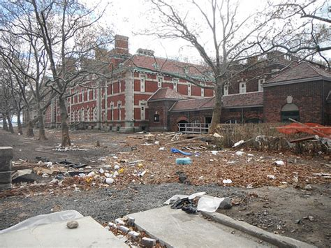After the Storm at Ellis Island - Ellis Island Part of