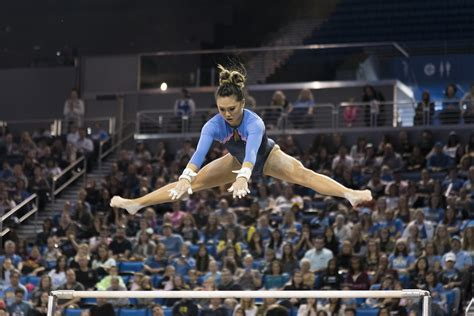 UCLA gymnasts reveal their motivation for sticking the