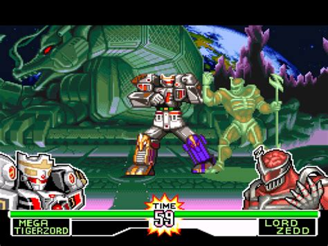 Mighty Morphin Power Rangers Fighting Edition Download