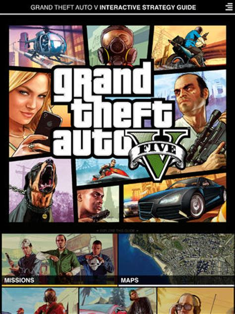 Official GTA V Guide App Released On iPad - Non-Fiction Gaming