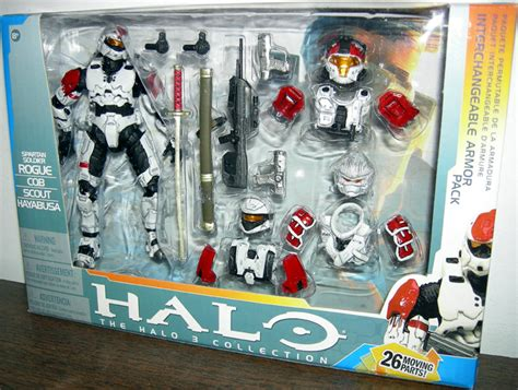 Halo Rogue Deluxe Armor Pack white