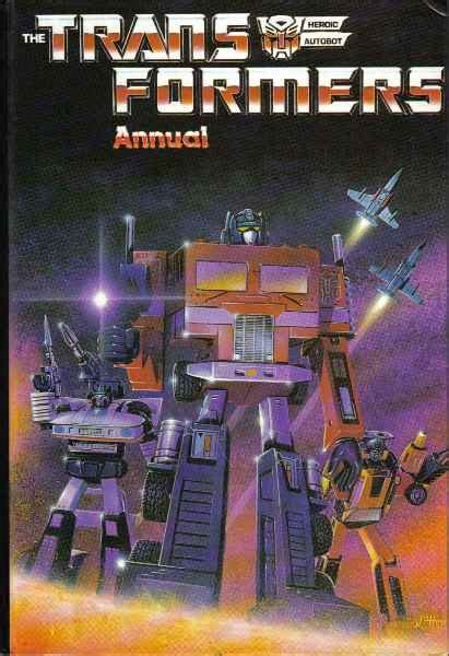 Transformers Annual 1986 | Teletraan I: The Transformers
