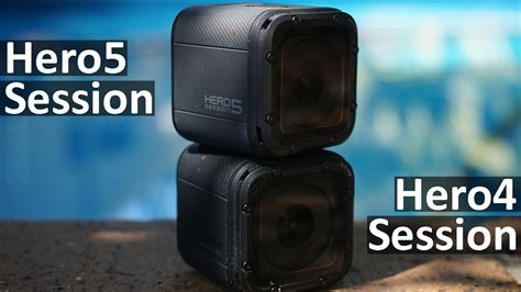 GoPro Hero5 Session vs GoPro Hero4 Session | Side By Side