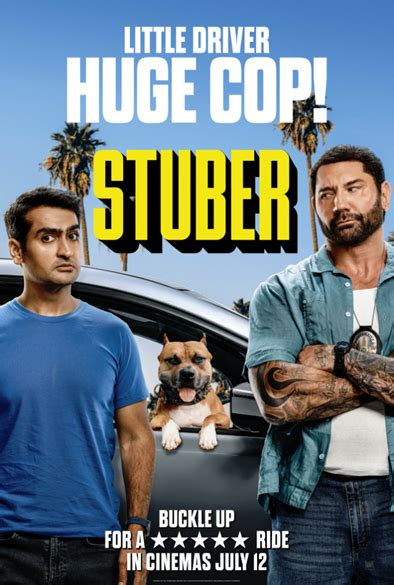 New Poster & Clip From Incoming Action Comedy 'Stuber'