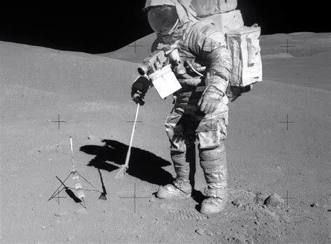 Moon Not So Watery After All, Lunar-Rock Study Says
