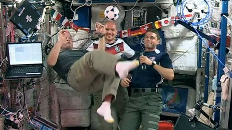Astronauts Kick Off 2014 World Cup With Their Own Soccer