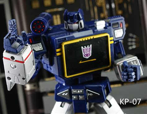 KFC KP-07 MP-13 Soundwave Articulated Hands from Keith's