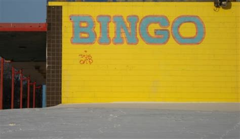 Punched Cards: 12 Abandoned, Closed & Boarded-Up Bingo