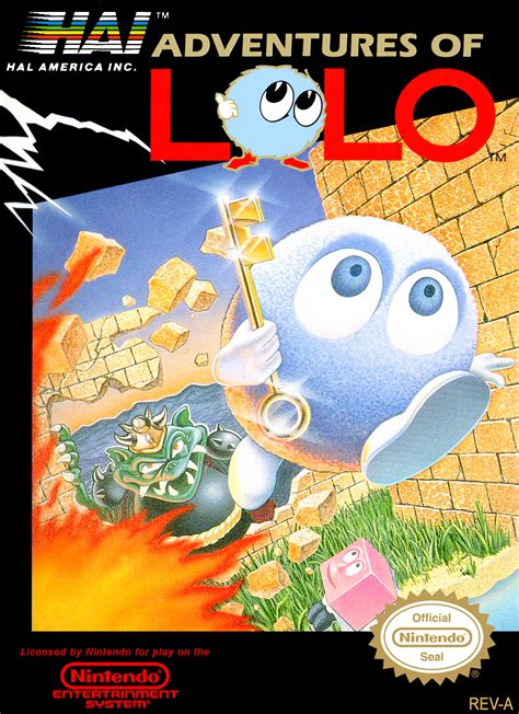 Adventures of Lolo Details - LaunchBox Games Database