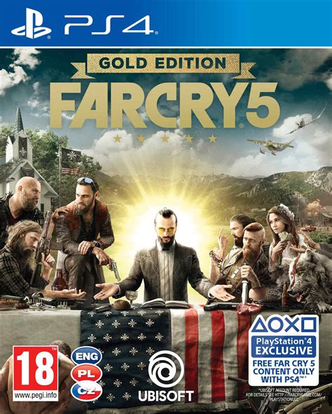 Far Cry 5 Gold Edition PS4 - akciós ár - Konzolvilág