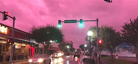 """Lake City FL Residents """"Creeped Out"""" After """"Purple Clouds"""