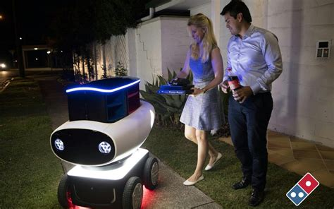 Domino's trials pizza delivery by robot