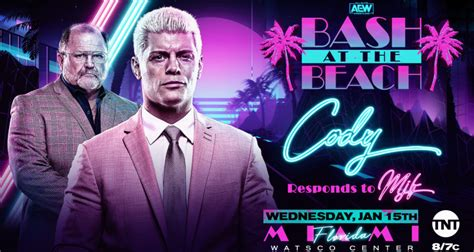 """News for Tonight's AEW Dynamite Episode - """"Bash at the"""