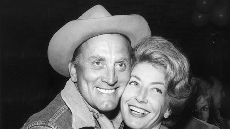 Anne Douglas Writes Openly About Kirk Douglas's
