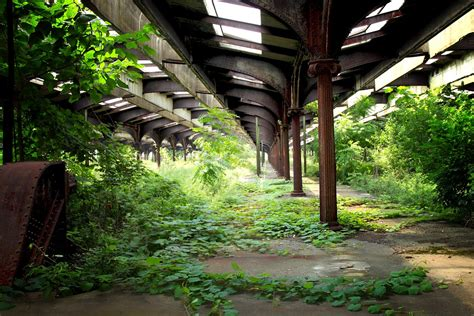 Abandoned & Overgrown Jersey City Trail Terminal | Once a