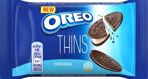 Oreo announces Oreo Thins UK launch