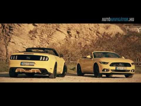 Teszt: Ford Mustang 2,3 EcoBoost Convertible