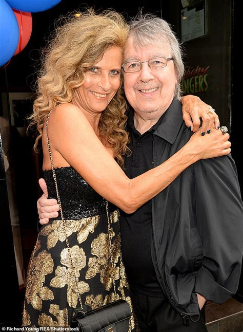 Bill Wyman defends relationship with second wife who he