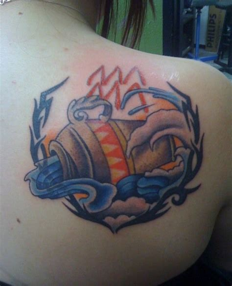 35 Aquarius Tattoos and Their Unique Meanings - Tattoos Win