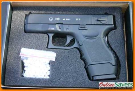Other Airsoft - Glock G26 - Spring - BB Metal Pistol