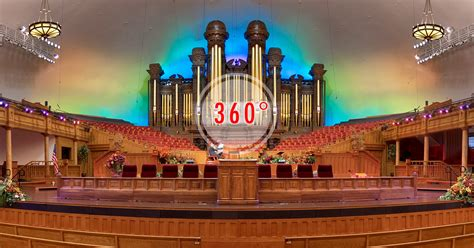 Tabernacle on Temple Square 3D Panorama