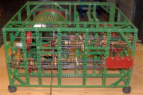 Dinosaurs and Robots: Meccano Babbage Analtyical Engine