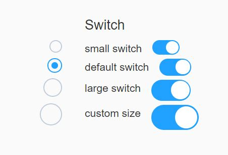 CSS/CSS3 Only Custom Checkboxes, Radios And Switches - el
