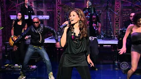 Nelly Furtado - Maneater (Live @ Late Show With David