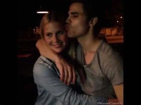 Claire Holt and Paul Wesley - YouTube